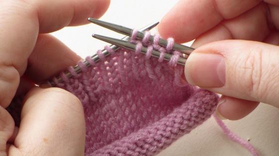 slip purl stitch