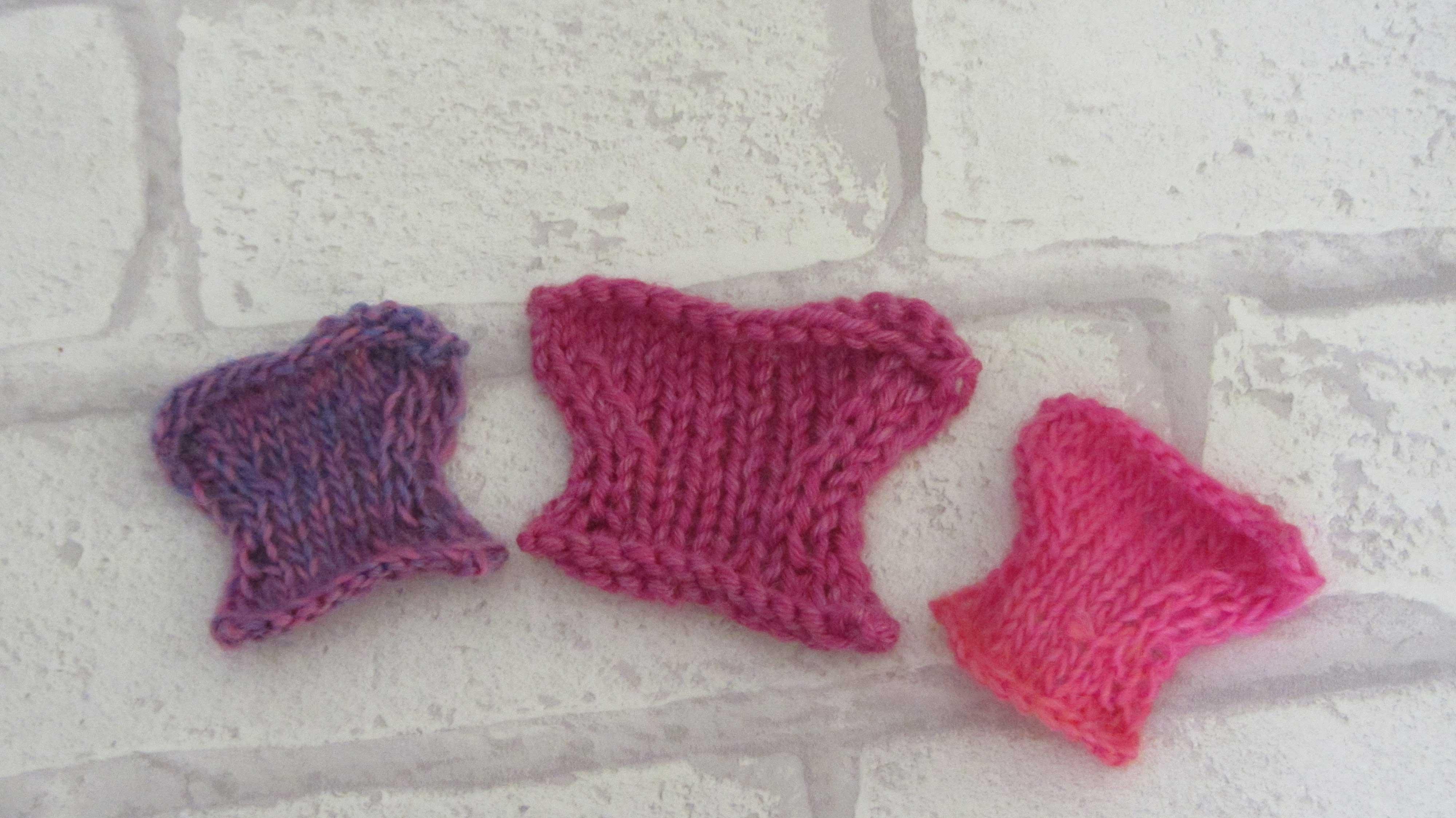 Knitting Pattern For Butterfly : Super Cute Knitted Butterfly TutorialJane Burns Jane Burns