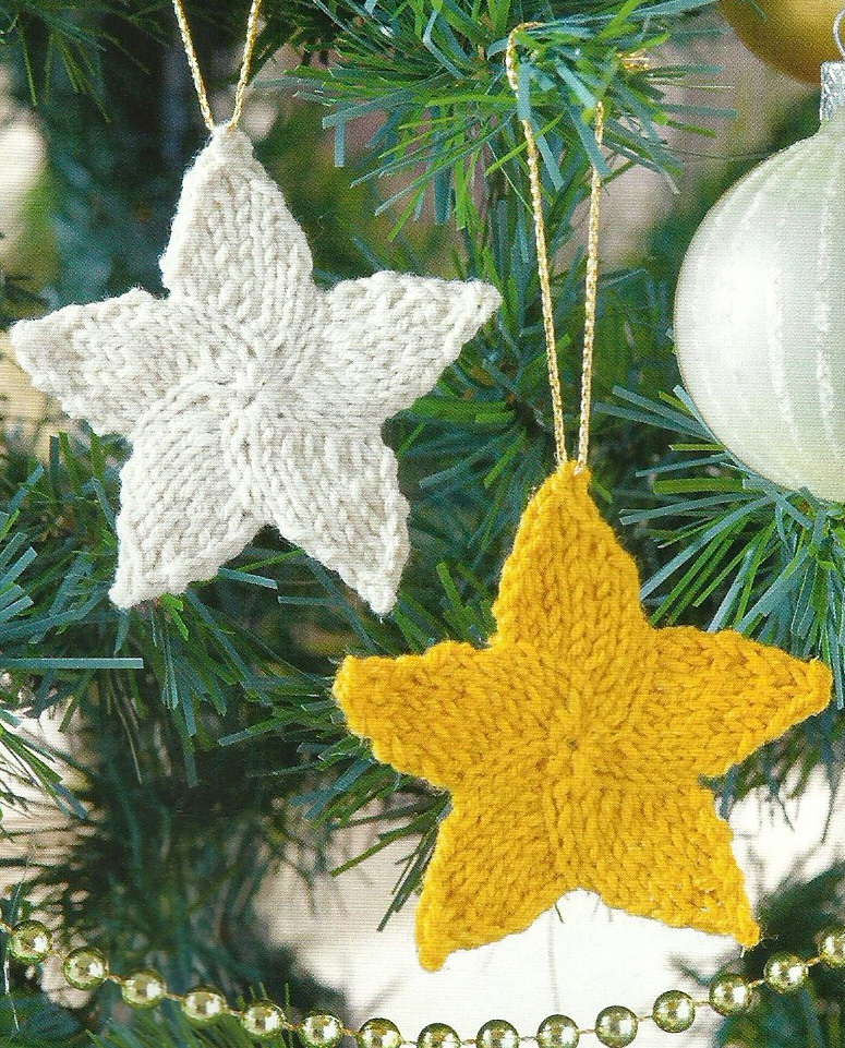 Knitted Decorations: Deck The Halls With Bells And Holly, Erm Robins, Bows