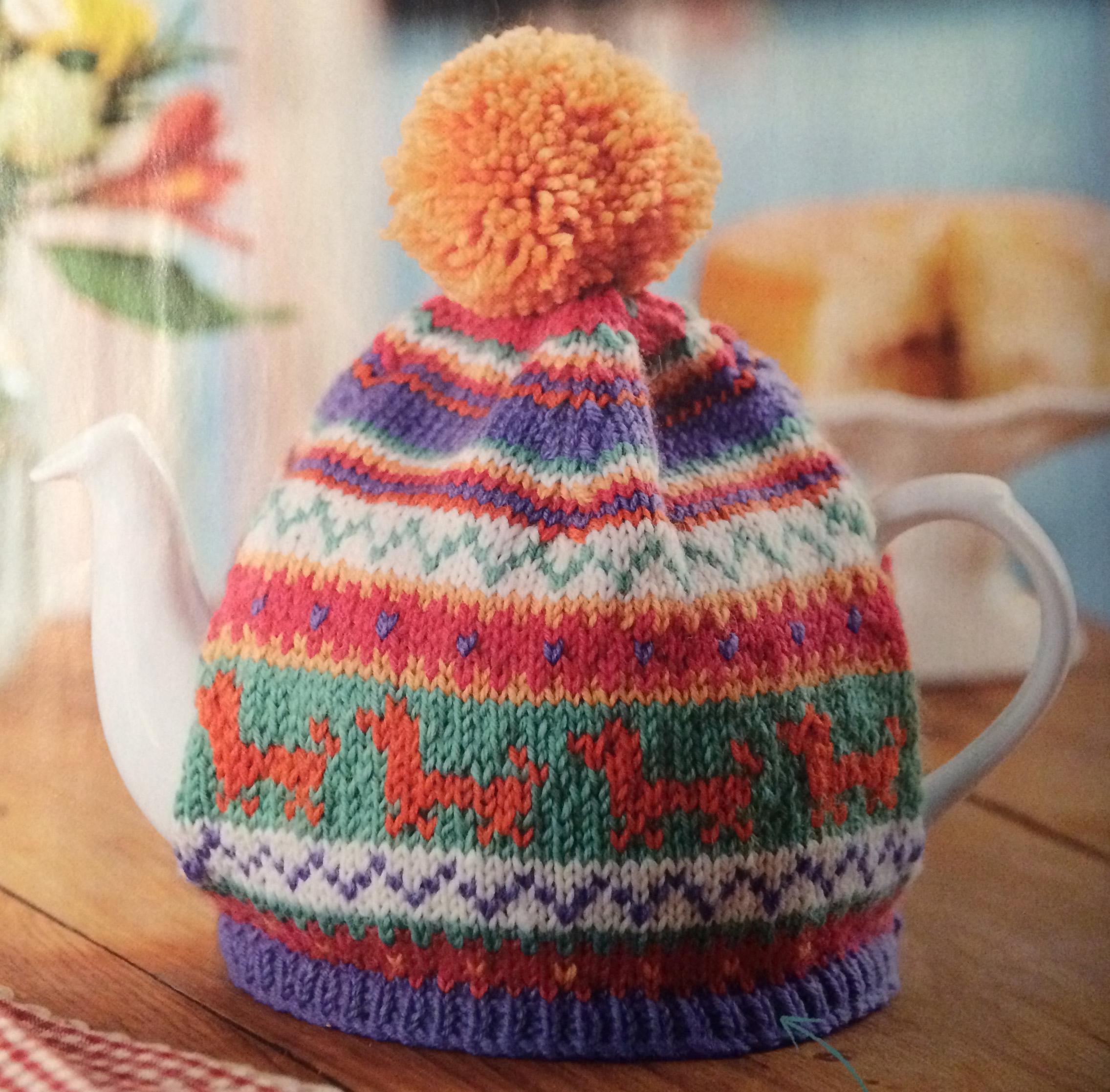 Unique Easy Tea Cozy Knitting Pattern Mold - Decke Stricken Muster ...