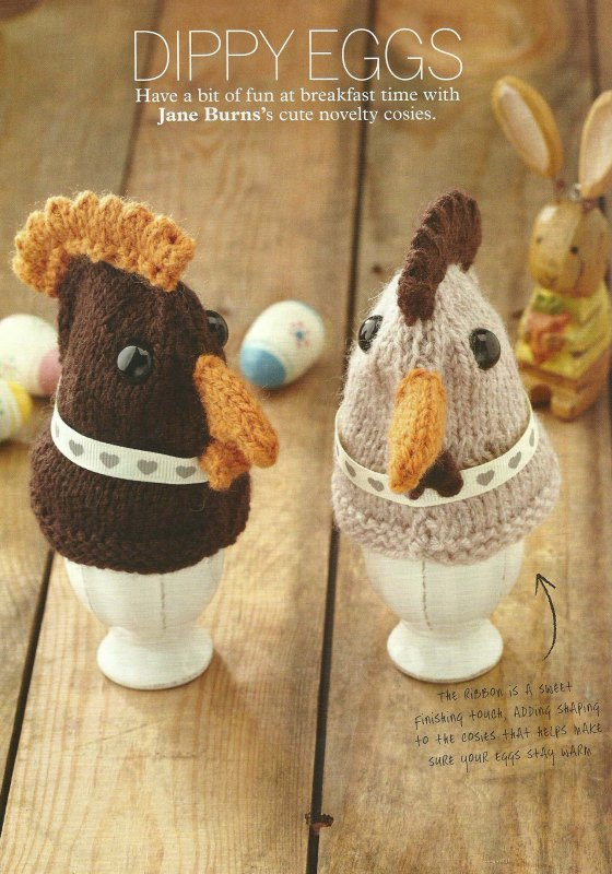 dippy eggs egg cosy jane burns simply knitting