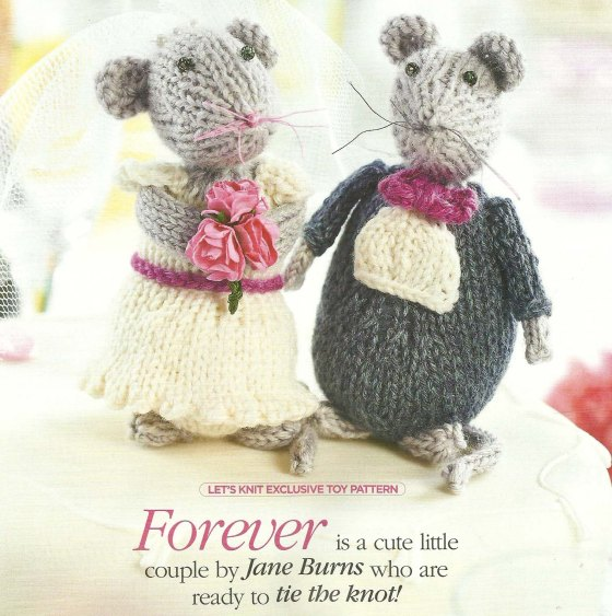 wedding mouse knitted jane burns