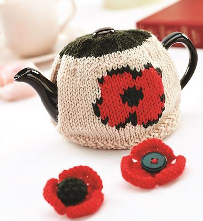 Knitting Pattern For British Legion Poppy : Let s Knit Magazine Jane Burns