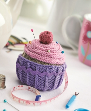 Magic Knitted Cupcake pattern download Jane Burns