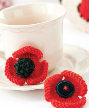 Knitting Pattern For Poppy Brooch : 301 Moved Permanently