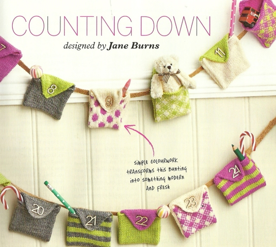 advent bunting knitted jane burns