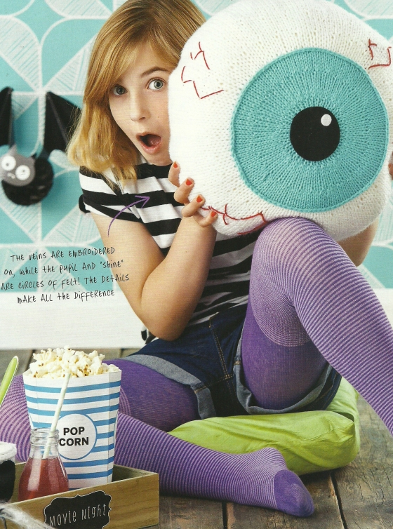 eyeseeyou eyeball cushion knit jane burns