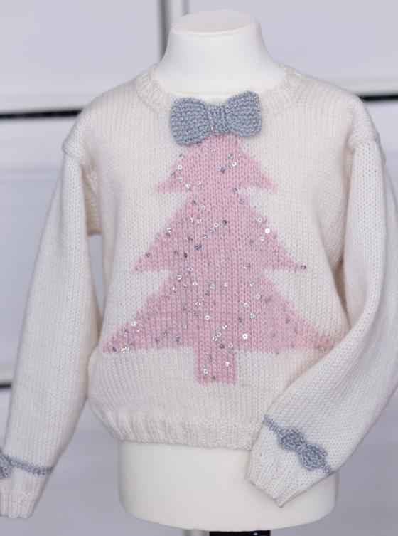 pink christmas sweater2 jane burns