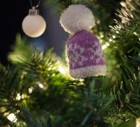 snowflake mini hat pattern knitted jane burns