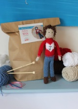 Knit your own Man Kit knitting gift idea