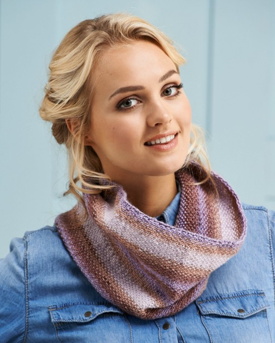 knitted cowl JANE BURNS
