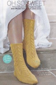 oh so sweet socks jane burns knit
