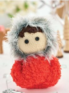 knitted eskimo joe toy jane burns