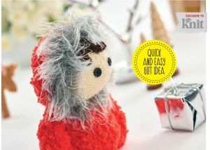 knitted eskimo joe toy jane burns