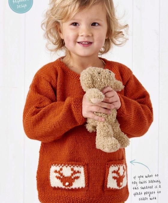 Jane burns reindeer sweater