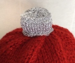 Bauble hat knit Jane burns