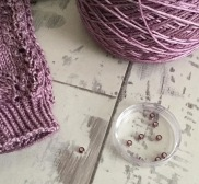 jane burns free sock knitting bead pattern